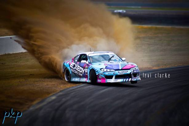 Drift DropOff S15 Exedy Burnout Levi Clarke